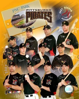 Pirates 2007 Team Composite 8x10 Photo