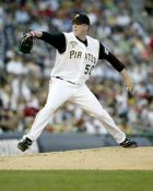Tom Gorzelanny Pittsburgh Pirates 8X10 Photo