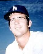 Bill Singer Los Angeles Dodgers 8X10 Photo