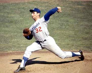 Sandy Koufax Los Angeles Dodgers 8X10 Photo
