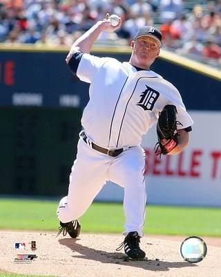 Jeremy Bonderman Detriot Tigers 8X10 Photo