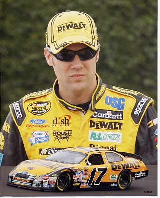 Matt Kenseth 2007 Composite LIMITED STOCK 8x10 Photo