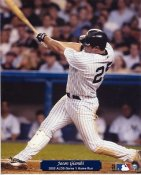Jason Giambi 2002 ALDS HR Yankees 8X10 Photo
