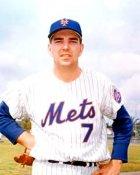 Ed Kranepoole New York Mets 8X10 Photo