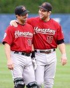 Lance Berkman & Brad Ausmus Astros 8X10 Photo