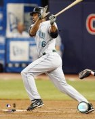 Delmon Young Tampa Bay Devil Rays 8X10 Photo
