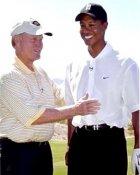 Tiger Woods & Jack Nicklaus 8X10 Photo