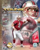 Steve Young HOF 2006 Limited Edition 8X10 Photo