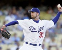 Mark Hendrickson Los Angeles Dodgers 8X10 Photo