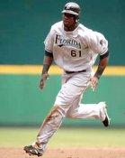 Reggie Abercrombie Florida Marlins 8X10 Photo