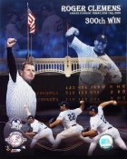 Roger Clemens 300th Win LIMITED STOCK Composite Yankees 8X10 Photo