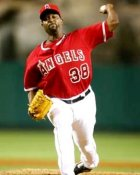 Darren Oliver Anaheim Angels 8X10 Photo