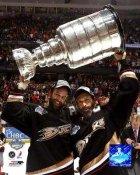 Rob Niedermayer & Scott Niedermayer LIMITED STOCK 2007 Stanley Cup 8x10 Photo