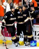 Ryan Getzlaf - Andy McDonald - Dustin Penner - 2007 Stanley Cup 8x10 Photo