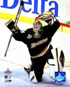 Jean-Sebastien Giguere 2007 Stanley Cup Game 1 8x10 Photo LIMITED STOCK