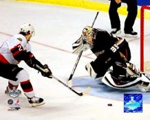 Jean-Sebastien Giguere 2007 Stanley Cup Game 5 8x10 Photo