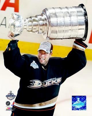 Jean-Sebastien Giguere 2007 Stanley Cup 8x10 Photo