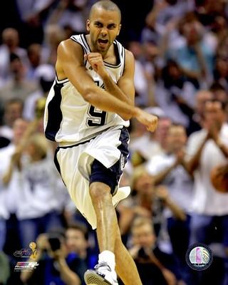 Tony Parker LIMITED STOCK 2007 Finals Game 1 Spurs 8X10 Photo