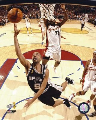 Tony Parker 2007 Finals Game 4 Spurs 8X10 Photo LIMITED STOCK