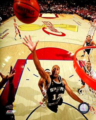 Bruce Bowen 2007 Finals Game 3 Spurs 8X10 Photo LIMITED STOCK