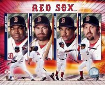 Johnny Damon - David Ortiz - Manny Ramirez - Jason Varitek LIMITED STOCK Red Sox 8x10 Photo