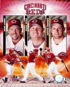 Sean Casey, Adam Dunn, Austin Kearns Cincinnati Reds 8X10 Photo  LIMITED STOCK RARE