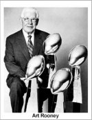 Art Rooney The Chief Pittsburgh Steelers 8x10 Photo