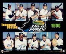 Tampa Bay Devil Rays 1998 8X10 Photo