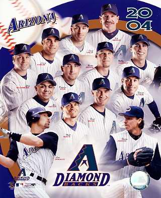 Arizona Diamondbacks 2004 8X10 Photo