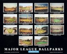 Major League Ballparks American 8X10 Photo