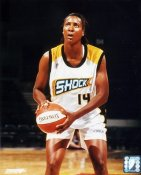 Cindy Brown #14 Shock WNBA 8X10 Photo LIMITED STOCK
