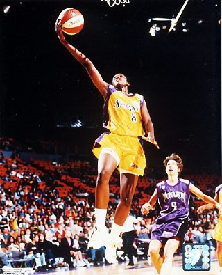 Delisha Milton #8 Sparks WNBA 8X10 Photo LIMITED STOCK