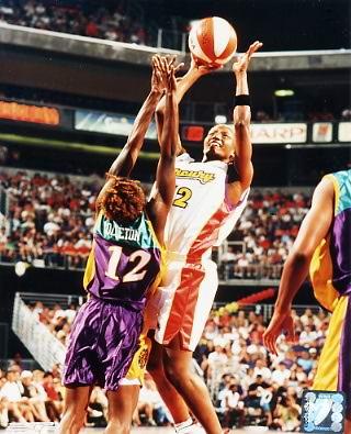 Bridgett Pettis #12 Mercury WNBA 8X10 Photo LIMITED STOCK