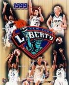 NY Liberty 1999 Composite WNBA 8X10 Photo LIMITED STOCK