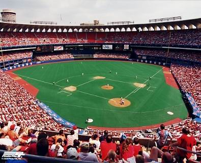 Old Busch Stadium  No Arch 8X10 Photo