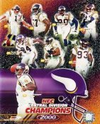 Vikings 2000 Minnesota Team 8x10 Photo