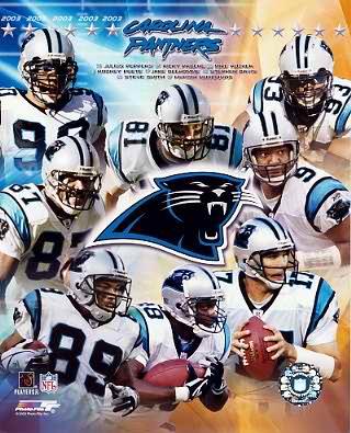 Panthers 2003 Carolina Team 8X10 Photo