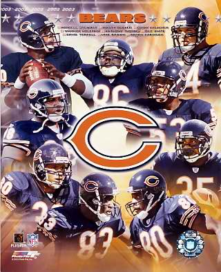 Bears 2003 Chicago Team 8X10 Photo