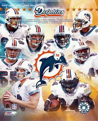 Dolphins 2003 Miami Team 8x10 Photo