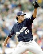 Yovani Gallardo Milwaukee Brewers 8x10 Photo