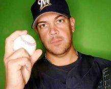 Chris Spurling Milwaukee Brewers 8x10 Photo