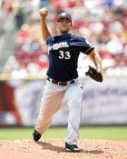 Carlos Villanueva Milwaukee Brewers 8x10 Photo