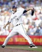 Matt Wise Milwaukee Brewers 8x10 Photo