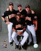 Carlos Beltran, Jose Reyes, Bill Wagner, David Wright 2007 All-Stars LIMITED STOCK 8x10