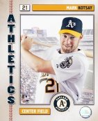 Mark Kotsay Studio 2006 LIMITED STOCK Oakland Athletics 8X10 Photo
