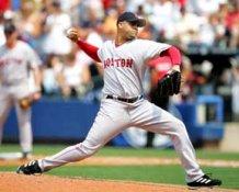 Manny Delcarmen Red Sox 8x10 Photo