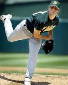 Rich Harden Oakland Athletics 8X10 Photo