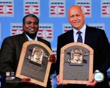 Cal Ripken Jr./Tony Gwynn 2007 Hall of Fame Ceremony Baltimore Orioles 8X10 Photo