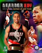 Brandon Roy 2007 NBA R.O.Y. Portland Trail Blazers 8X10 Photo LIMITED STOCK