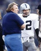 John Madden & Ken Stabler Raiders 8X10 Photo